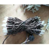 Quality M5 led christmas lights brown wire for sale