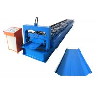 Quality OEM Durable Standing Seam Roll Forming Machine For Metal Roofing Construction for sale