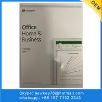 Quality Windows 10 PC Office 2019 Home And Business With DVD Retail Package Activation Key Code for sale