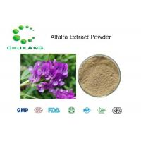 Buy Pure Nature Ratio Extract Alfalfa Extract Alfalfa Flavonoids Inhibit Microvascular Proliferation at wholesale prices