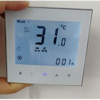 China 1P 24 Fcu Thermostat Controller For Central Air Conditioning on sale