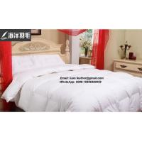 Factory Made Hotel Bed Linen Luxury Goose Down Quilt From China