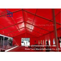 Quality Red Aluminum Truss Roof Systems , Beautiful Dj Lighting Truss Systems for sale
