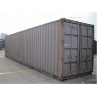 China Used Metal Shipping Containers 40gp Steel Dry Storage Containers on sale