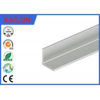 Quality Natural Silver Anodised Aluminium Angle for 12 Watt Led Light Panel 20 X 20 X 1.5 MM for sale