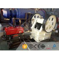 Quality 110 Kw Mini Stone Crushing Equipment Gold Ore Jaw Crusher For Gold Mine for sale
