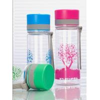 Quality 450ml Plastic PC Water Bottle for Tea (XL-9002) for sale