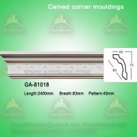 Quality Home decorative material Polyurethane carved panel moulding for sale