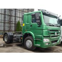 """Quality HOWO 4x2 Prime Mover, 371HP 30T Automatic Tractor Truck 90"""" Saddle for sale"""