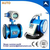 Quality magnetic flow meter used for purest water with low cost for sale