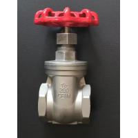 Quality 200PSI NPT Thread End 200WOG Non Rising Gate Valve/WCB / CF8M/ANSI Screwed Hydraulic Gate Valve for sale