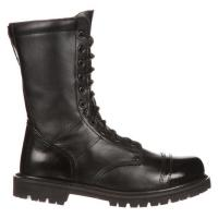 Quality CQB.SWAT Military Jungle Army Boot, 10 inches Jump Man boots leather with side YKK zipper for sale