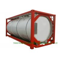 Quality 316 Stainless Steel 20 FT ISO Bulk Liquid Tank Container For Hazardous Liquids for sale