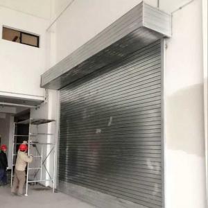 Quality Protection Rolling Door Sliding Door Roll up Garage Door for/Vehicles/Cars/Buildings for sale