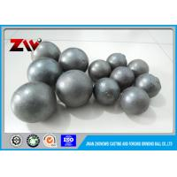 Quality 45# 60Mn B2 forged grinding steel ball HRC 55 65  for mining and cement plant for sale