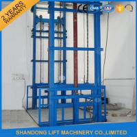Quality 1.2 ton 6m Warehouse Vertical Hydraulic Elevator Lift Platform for Cargo Loading for sale