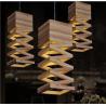 Buy cheap Elegant design wood pendant lamp for living room & restaurant from wholesalers