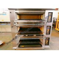 Quality 8 Trays Bakery Deck Oven Digital Display Ceramic Heating For Bread 1300 Kg for sale