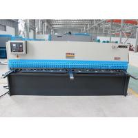 Quality Steel Plate Shearing Machine , Hydraulic Sheet Metal Cutter With LCD 240×128 Display for sale