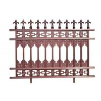 China Garden Decoration Customized Decorative Metal Fence Panels / Gate / Railings on sale