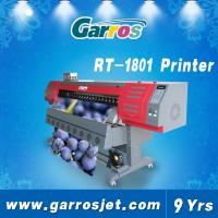 China 1.8m Digital Printing Machines Stickers Garros RT1801,1440DPI with DX7 Head on sale