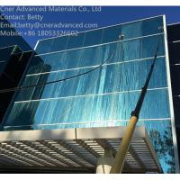 Buy cheap Super stiffness 30ft/40ft/45ft/50ft carbon fiber telescopic pole for water fed from wholesalers