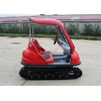 Quality Max 7 Km/H Electric Tour Bus , 24 V Steering Wheel Electric Tourist Vehicles for sale