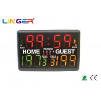 China Led Indoor Light Portable Digital Basketball Scoreboard With Multi - Sports Function on sale