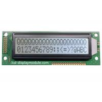 Quality COB Resolution 20x2 LCD Dot Matrix Module , Character Transflective LCD Display for sale