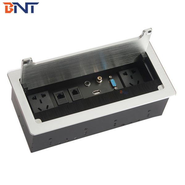 Buy rj45 female connector desktop brush flip up socket at wholesale prices