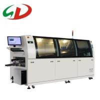 Quality SD automatic lead free wave soldering machine for PCB assembly of led lights for sale