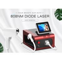 Quality 500W 808nm Diode Laser Epilation Equipment / Hair Removal Machine for sale