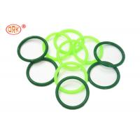 Quality AS568 Standard Silicone O Rings Clear And Green FDA Grade / Silicon Rubber Rings for sale