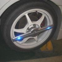 Quality Automotive LED On-wheel Lighting with Re-programmable Imaging System for sale