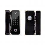Quality Double / Single Open Glass Door Lock APP / Password / Fingerprint Unlock Ways Available for sale