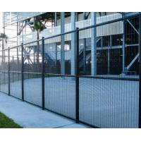 China Durable Anti - Thief Expanded Metal Gate With Various Colors And Hole Shapes on sale