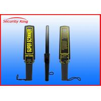 China Bomb Hand Held Security Scanner , Handheld Metal Detector Wand Use In Airport on sale