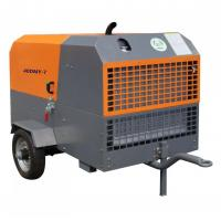 Quality China factory 110kw 350cfm 14.5bar portable diesel screw air compressor for sale in sri lanka for sale