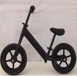 Quality Balance bike with Aluminum alloy frame, Inflatable wheel,Black kids