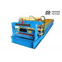 Quality 2 - 5m/Min Speed Glazed Tile Roll Forming Machine For Building Material for sale