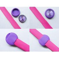 Quality 2012 lovely heart shape silicon slap watches ET1155E for sale