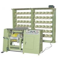 Quality 84 cones positions automatic LaTex thread warping machine for sale