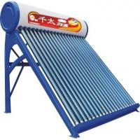 Buy Color plate solar water heater ∮58×1800 ( red, blue, green ) at wholesale prices