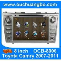 Quality Wince 6.0 car Stereo Sat Nav for Toyota Camry 2007-2011 with auto radio gps double din DVD Player OCB-8006 for sale