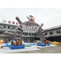 Buy cheap Outdoor Commercial Advertising Inflatable Arch With OEM Logo Printing from wholesalers