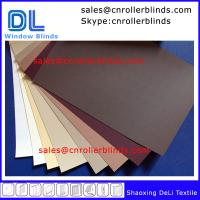 China Plain Blackout Roller Blinds with match color on sale