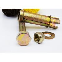 Quality M6-M20 4PCS Expanding Bolts For Concrete 4PCS With Bolt / Nut / Washer / Pipe for sale