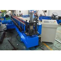 Quality Gearbox Driven Strut Channel Roll Forming Machine With Servo Feeding Device for sale