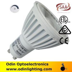 China goodbulb led spotlight gu-10 lamps cob 240v 5w/6w on sale
