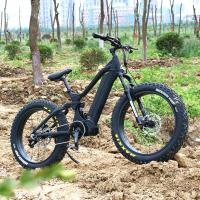 China Aluminum Frame E Fat Bike , Fat Electric Bicycle With 26*4.0 Kenda Fat Tire on sale
